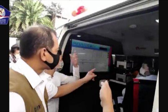 Gugus Tugas kirim dua mobil kombat ke Surabaya