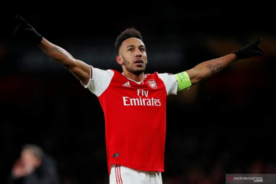 Arsenal tawarkan Pierre-Emerick Aubameyang perpanjangan kontrak