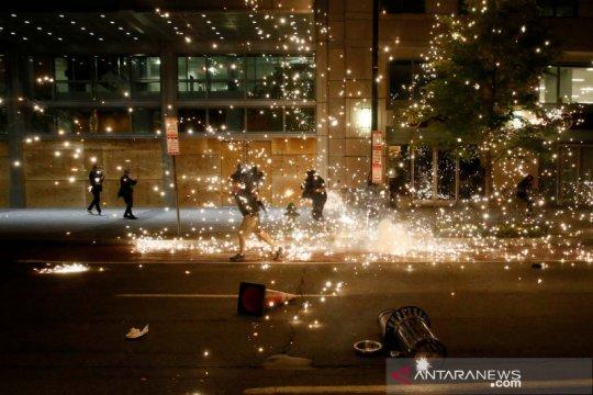 40 kota di AS, termasuk Washington, berlakukan jam malam pascaprotes