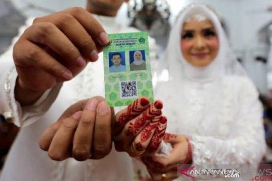2.303 pasangan di Aceh menikah dalam masa pandemi COVID-19