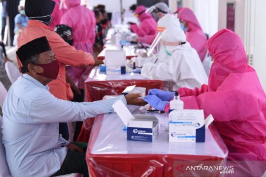 """Hari keempat """"rapid test"""" di Surabaya, BIN temukan 187 orang reaktif"""