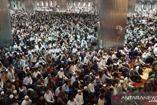 DMI sebut kapasitas masjid 40 persen saat normal baru
