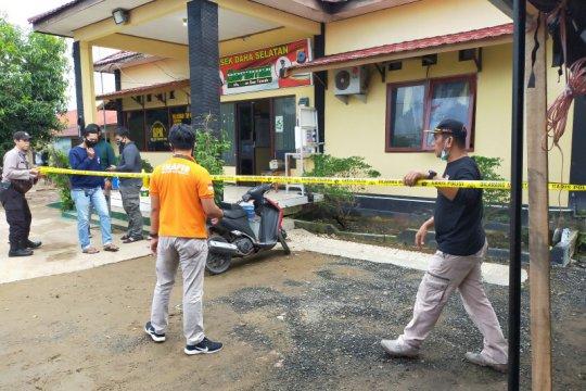 Polsek Daha Selatan diserang orang tak dikenal, satu polisi meninggal