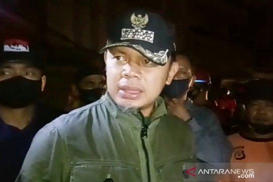 Bima Arya pimpin penanganan kebakaran di Jembatan Merah Kota Bogor