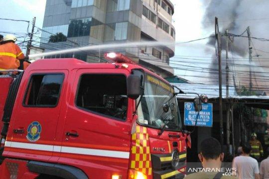 Korsleting diduga jadi pemicu terbakarnya 26 rumah di Menteng