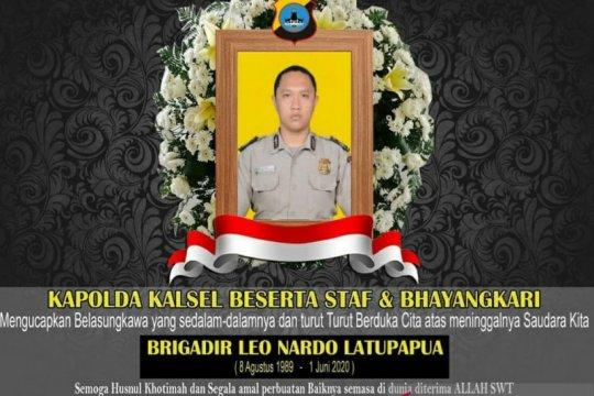 Kapolri naikkan pangkat anggota polisi tewas di Polsek Daha Selatan