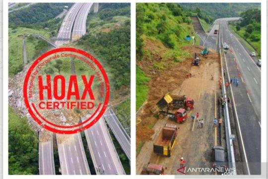 Jasa Marga tegaskan foto longsor Tol Semarang-Solo di medsos hoaks