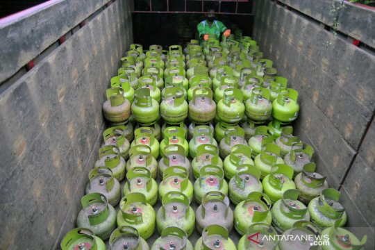 Pasokan gas subsidi 3 kg ditambah