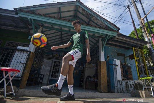 Sutan Zico nikmati TC virtual timnas U-19