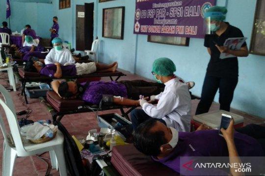 SPSI Bali peduli COVID-19 dengan aksi donor darah