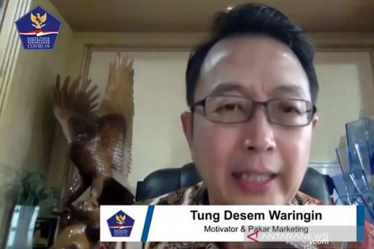 Motivator Tung Desem: Semangat Pancasila penting untuk hadapi COVID-19