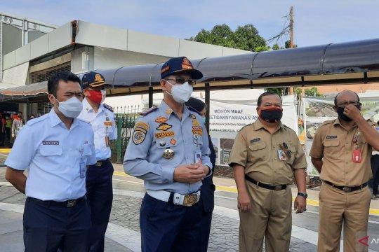 Dinas Perhubungan Jakarta uji coba penataan Stasiun Tanah Abang