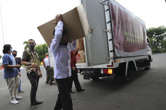 BIN bantu 120 ribu masker untuk penanganan COVID-19 di Surabaya