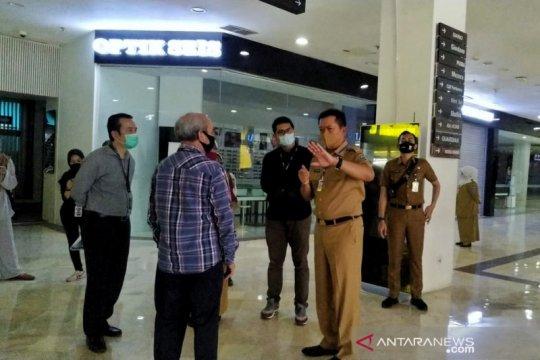 Satpol PP Kota Bandung temukan pelanggaran aturan PSBB di mal