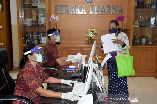 Pelayanan masyarakat di kantor pemerintah Kota Denpasar mulai dibuka