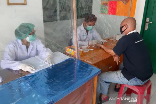 Rapid test 20 wartawan di Barito Utara non reaktif