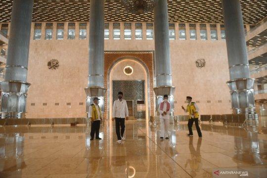 Presiden: Renovasi Masjid Istiqlal sudah mencapai 90 persen