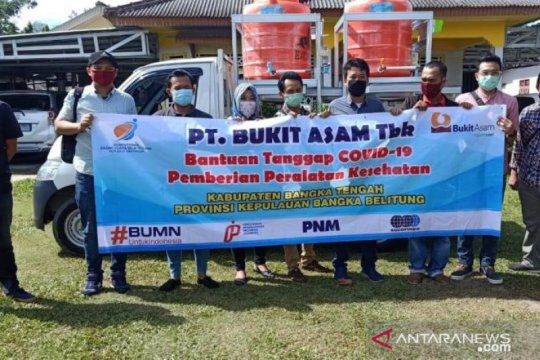 Empar BUMN sediakan fasilitas cuci tangan di Bangka Tengah