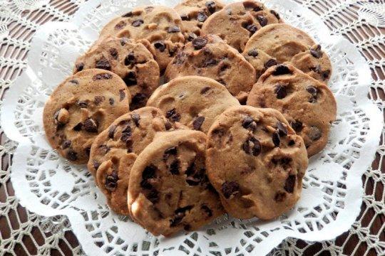 "Resep ""Peanut Butter Chocolate Chips"", kudapan sehat hanya lima bahan"