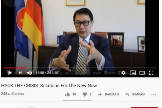 Dubes Havas sebut Indonesia dapat contoh Jerman hadapi pandemi