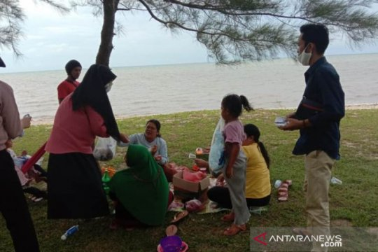 Objek wisata di Bangka Tengah ditutup cegah penyebaran virus COVID-19