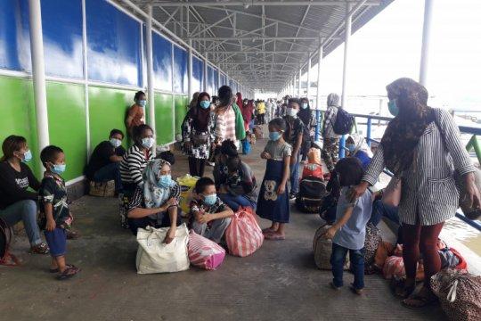 Saat pandemi COVID-19, ratusan TKI di Sabah dideportasi ke Nunukan
