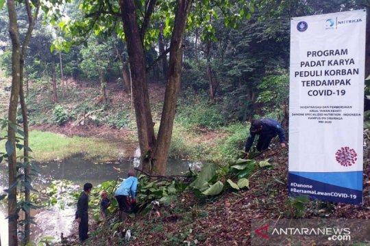 IPB selenggarakan padat karya di Taman Kehati Bogor