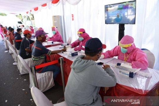 """Hari keenam """"rapid test"""" di Surabaya, BIN temukan 136 orang reaktif"""
