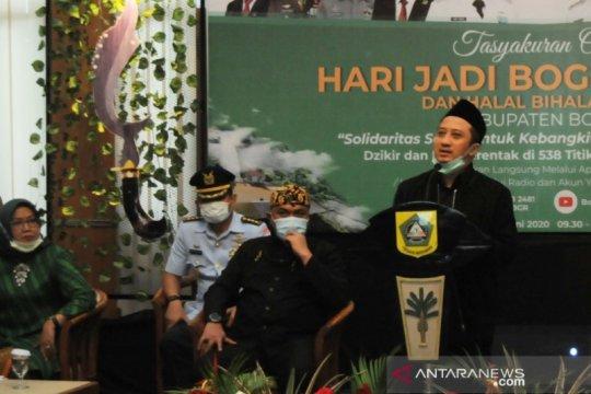 Kabupaten Bogor gelar syukuran di 538 lokasi untuk peringati hari jadi