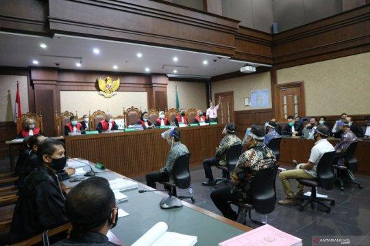 Tujuh hakim sidangkan pembacaan dakwaan korupsi Jiwasraya