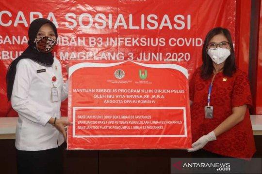 Anggota DPR bantu RSUD Merah Putih tangani COVID-19
