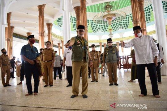 Mulai relaksasi, tempat peribadatan di Kota Jambi dibuka untuk umum