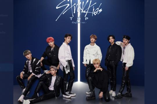 "Stray Kids posisi pertama tangga lagu Oricon lewat ""TOP"""