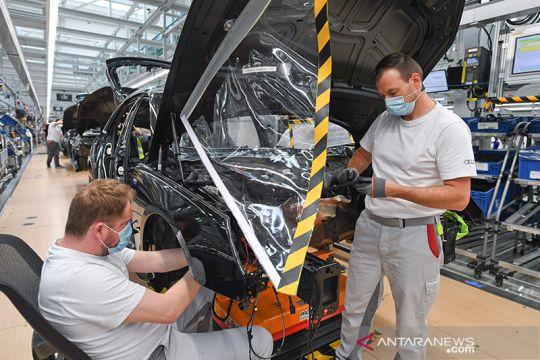 Audi tetap berproduksi dengan protokol COVID-19