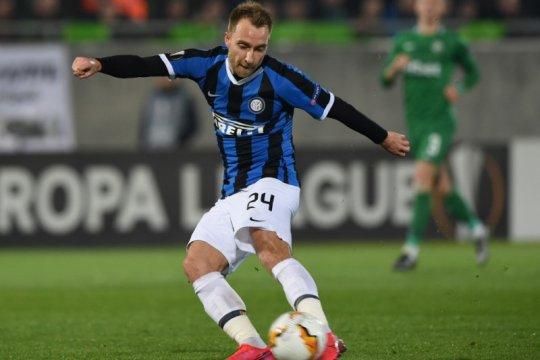 Inter bakal turunkan Christian Eriksen sebagai starter