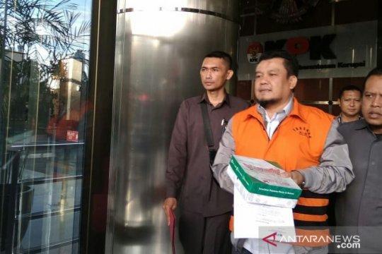 JPU KPK limpahkan berkas perkara dua terdakwa suap RTH Kota Bandung