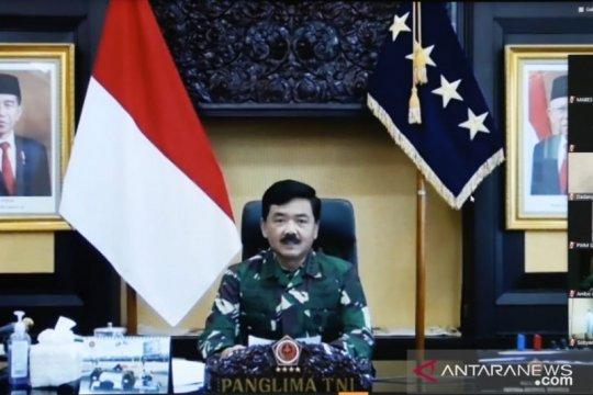 Panglima TNI: Waspadai gangguan kedaulatan negara di tengah COVID-19