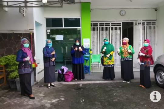 Pasien 03 Kota Metro Lampung dinyatakan sembuh