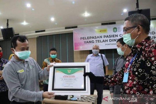 24 pasien COVID-19 di Kalbar dinyatakan sembuh