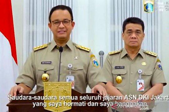 Anies Baswedan resmi perpanjang PSBB Jakarta