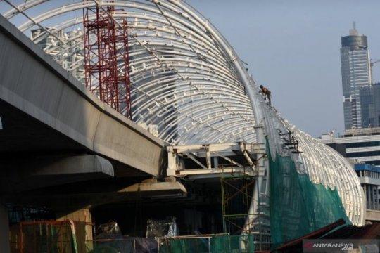 Adhi Karya: Progres pembangunan LRT Jabodebek mencapai 71,2 persen