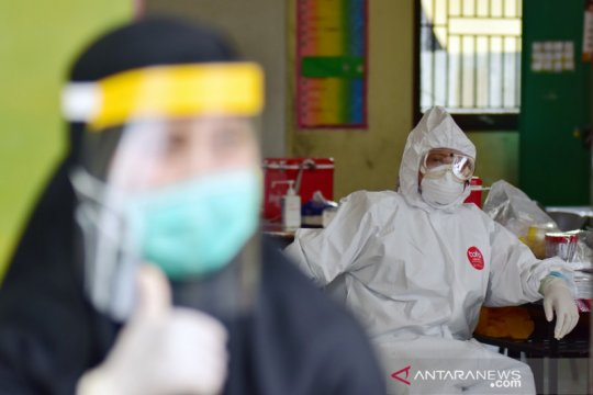 Tingkat kesembuhan pasien COVID-19 Riau capai 84,6 persen