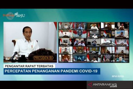 Jokowi minta manajemen data terkait COVID-19 diperbaiki
