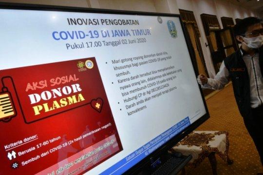 RSUD dr Soetomo targetkan 103 pasien COVID-19 jalani terapi plasma