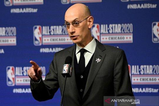 Komisioner NBA bilang jeda musim 2021 untuk Olimpiade tidak mungkin