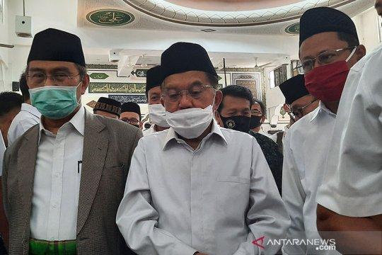 JK lega kembali Jumatan berjamaah di masjid