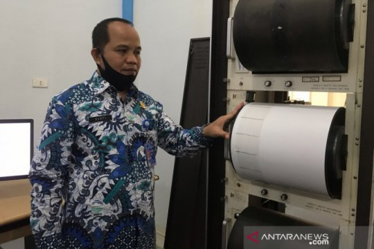 BMKG catat 20 gempa bumi susulan di Sabang