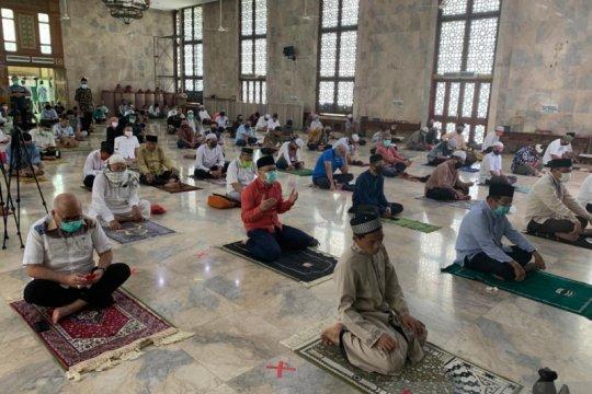 Masjid Sunda Kelapa tak terapkan aturan ganjil genap saat Shalat Jumat