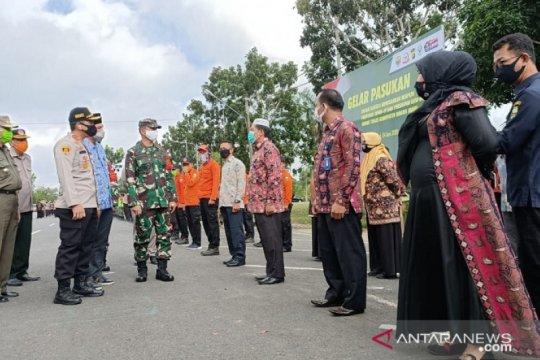 Komandan Kodim 0415/Batanghari pimpin apel disiplin protokol kesehatan