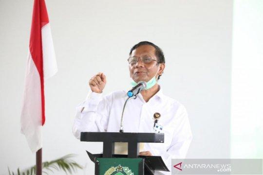 Pasien COVID-19 di Pulau Galang sembuh, Mahfud bersyukur